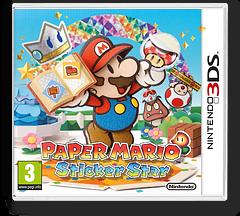 Paper Mario - Sticker Star pochette 3DS (AG5P)
