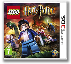 LEGO Harry Potter - Years 5-7 pochette 3DS (AHPP)