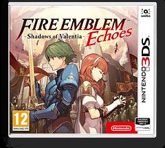 Fire Emblem Echoes: Shadows of Valentia pochette 3DS (AJJP)