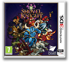 Shovel Knight pochette 3DS (AKSP)