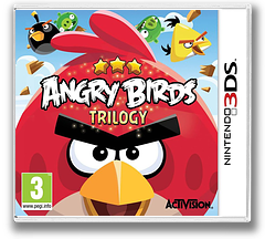 Angry Birds Trilogy pochette 3DS (ANGP)
