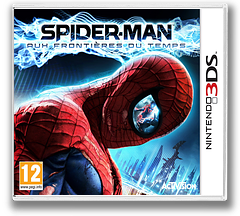 Spider-Man - Edge of Time pochette 3DS (AS7P)