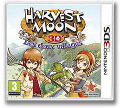 Harvest Moon 3D - The Tale of Two Towns pochette 3DS (AT2P)