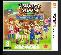 Harvest Moon: Skytree Village pochette 3DS (AVAP)