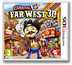 Carnival - Far West 3D pochette 3DS (AW2P)