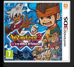 Inazuma Eleven 3 - Team Ogre Attacks! pochette 3DS (AXGP)