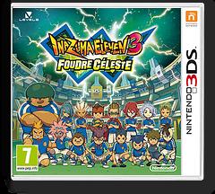 Inazuma Eleven 3 - Lightning Bolt pochette 3DS (AXSP)