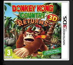 Donkey Kong Country Returns 3D pochette 3DS (AYTP)