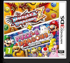 Puzzle & Dragons Z + Puzzle & Dragons Super Mario Bros. Edition pochette 3DS (AZGP)