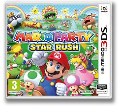Mario Party: Star Rush pochette 3DS (BAAP)