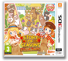 Story of Seasons: Trio of Towns pochette 3DS (BB3P)
