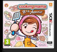 Cooking Mama - Bon Appetit! pochette 3DS (BC5P)