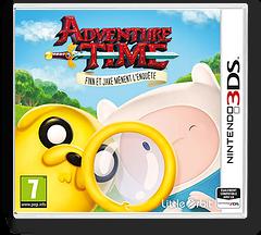 Adventure Time - Finn & Jake Investigations pochette 3DS (BFNP)