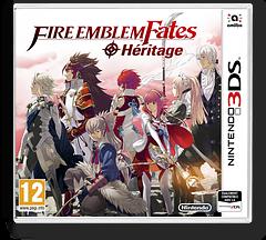 Fire Emblem Fates - Birthright pochette 3DS (BFXP)