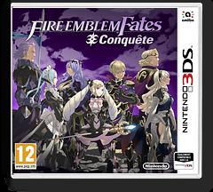 Fire Emblem Fates - Conquest pochette 3DS (BFYP)