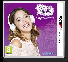 Disney Violetta - Rhythm & Music pochette 3DS (BGRP)