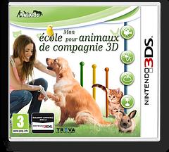 My Pet School 3D pochette 3DS (BM6P)