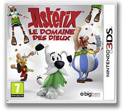 Asterix - The Mansions of the Gods pochette 3DS (BMNP)