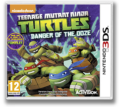 Teenage Mutant Ninja Turtles - Danger of the Ooze pochette 3DS (BMUP)