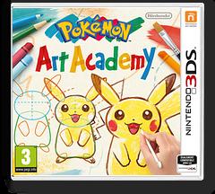Pokémon Art Academy pochette 3DS (BPCP)