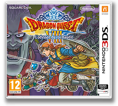 Dragon Quest VIII: Journey of the Cursed King pochette 3DS (BQ8P)