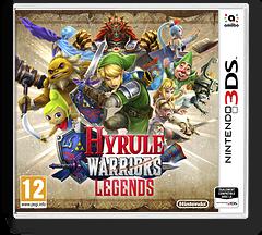 Hyrule Warriors Legends pochette 3DS (BZHP)