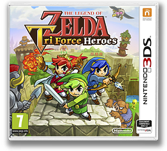 The Legend of Zelda - Tri Force Heroes pochette 3DS (EA3P)
