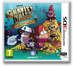 Gravity Falls - Legend of the Gnome Gemulets 3DS cover (AGFP)