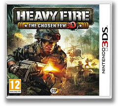 Heavy Fire - The Chosen Few 3D 3DS cover (AHVP)