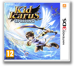 Kid Icarus - Uprising 3DS cover (AKDP)
