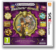 Professor Layton and the Miracle Mask 3DS cover (AKKP)