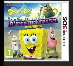 SpongeBob SquarePants - Plankton's Robotic Revenge 3DS cover (ANXP)