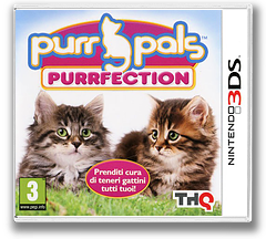 Purr Pals - Purrfection 3DS cover (AP6P)