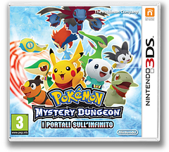 Pokémon Mystery Dungeon - Gates to Infinity 3DS cover (APDP)