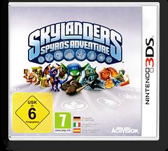 Skylanders - Spyro's Adventure 3DS cover (ASPP)