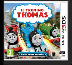 Il Trenino Thomas - A tutto vapore per Sodor 3DS cover (BTBP)