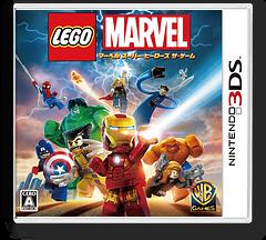 LEGO マーベル スーパー・ヒーローズ ザ・ゲーム 3DS cover (AL5J)