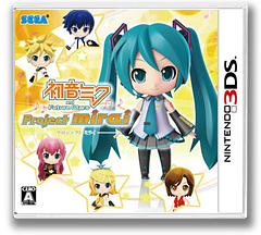 初音ミク and Future Stars Project mirai 3DS cover (AM9J)
