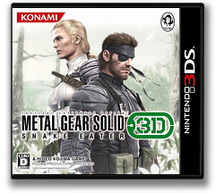 METAL GEAR SOLID SNAKE EATER 3D 3DS cover (AMGJ)
