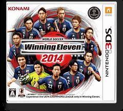 ワールドサッカー  ウイニングイレブン  2014 3DS cover (BW4J)