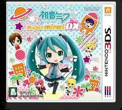 Hatsune Miku - Project Mirai DX 3DS cover (BRXK)