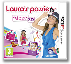 Laura's Passie - Mode 3D 3DS cover (AGUP)