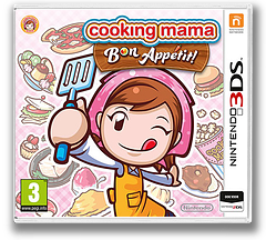 Cooking Mama - Bon Appetit! 3DS cover (BC5P)