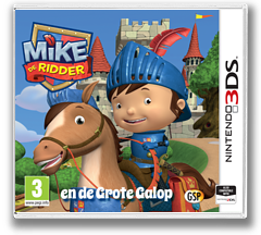 Mike the Knight and the Great Gallop 3DS cover (BMJP)