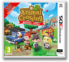 Animal Crossing: New Leaf - Welcome amiibo 3DS cover (EAAP)