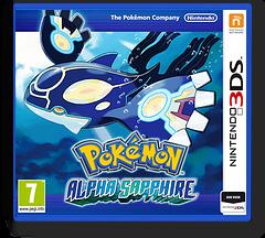 Pokémon Alpha Sapphire 3DS cover (ECLP)
