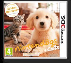 Nintendogs + Cats - Golden Retriever & New Friends 3DS cover (ADAP)