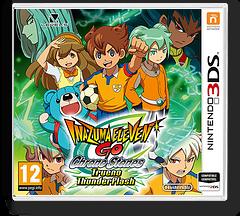 Inazuma Eleven GO - Chrono Stones - Thunderflash 3DS cover (ARAP)