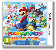 Mario Party - Island Tour 3DS cover (ATSP)