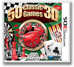 50 Classic Games 3D 3DS cover (AC5E)